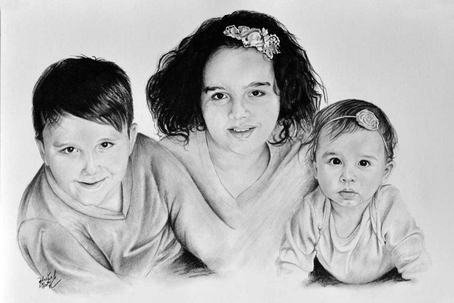 Kresba Portret Deti Od Radek Zdrazil Portret Ceska Tvorba