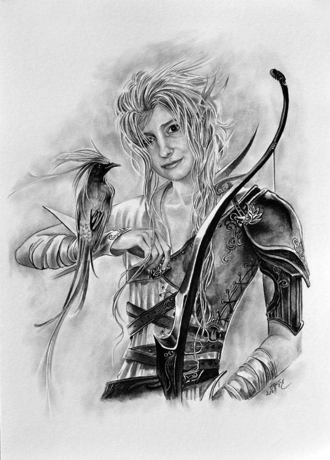 Fantasy Kresba Od Radek Zdrazil Figuralni Ceska Tvorba